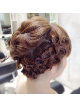 着物 髪型 結婚式 着物 髪型 編み込み : subserveinformation.com