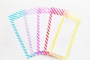 5色の短冊