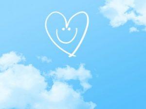 青空と笑顔