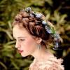 梅雨の髪型ロングの編み込み・まとめ髪の崩れない簡単なヘアアレンジ