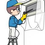 エアコン掃除を自分でできるスプレーとフィルターやフィン洗浄方法