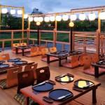 鴨川納涼床の期間と京都ランチにおすすめリーズナブルな人気川床料理