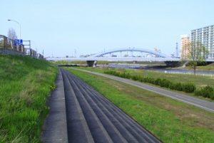 豊平川河川敷