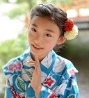 子供の浴衣に似合う髪型でおだんごや編み込み簡単ヘアアレンジ
