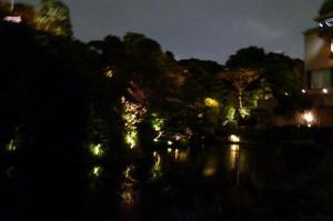 椿山荘のほたるの夕べ