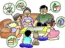地震対策の家族会議