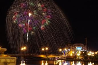 釧路大漁どんぱく花火大会2016日程・交通規制と三尺玉花火とは?