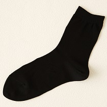 黒色の靴下