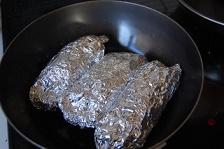 フライパンで焼き芋