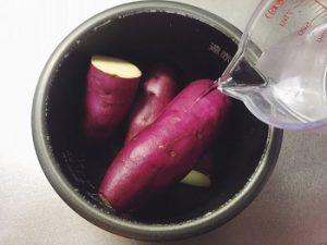 炊飯器で焼き芋